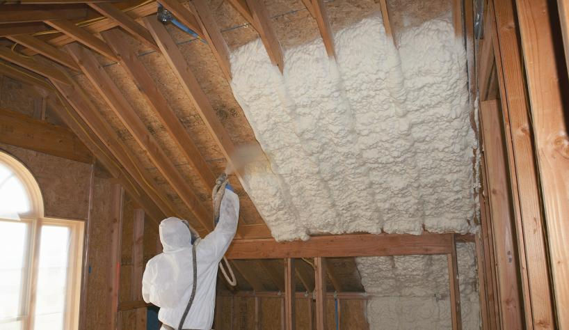 Installation issues and solutions associated with spray foam insulation